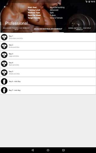 GymApp Pro Workout Log screenshot 9