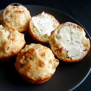 Bacon, Cheese and Chive Muffins