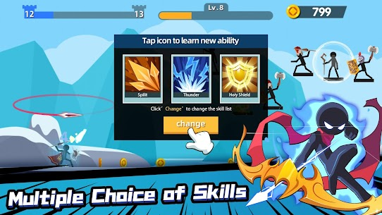 Stickman Master: Archer Legends Mod Apk (Unlimited Money) 5