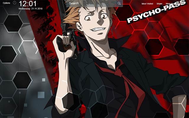 Psycho Pass Wallpapers New Tab Theme