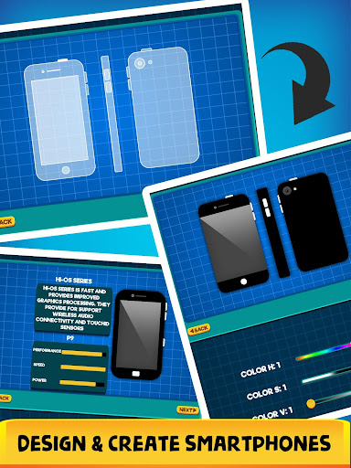 Smartphone Tycoon - Idle Phone Clicker & Tap Games apkmr screenshots 3