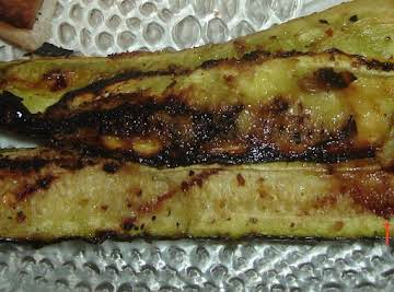 Grilled Zucchini and Squash Spears