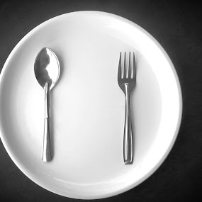 Barren Plate by Naveed Dadan - Food & Drink Plated Food ( black and white, art, street, india, travel, people, portrait, man, photography, city )