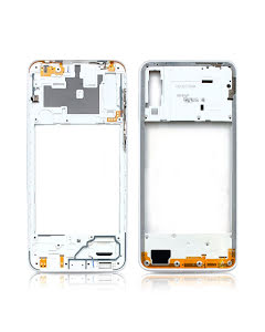 Galaxy A30s Middle Frame White