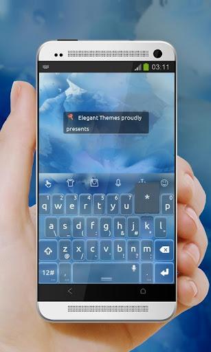 玩免費個人化APP|下載藍色冰山 TouchPal app不用錢|硬是要APP