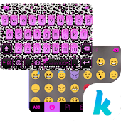 Glitter Cheetah Kika Keyboard
