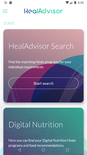Download HealAdvisor 1.2.0 2