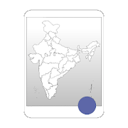 Blank Map, India