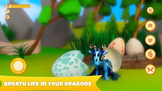 Fly Your Dragon - Simulator- screenshot thumbnail