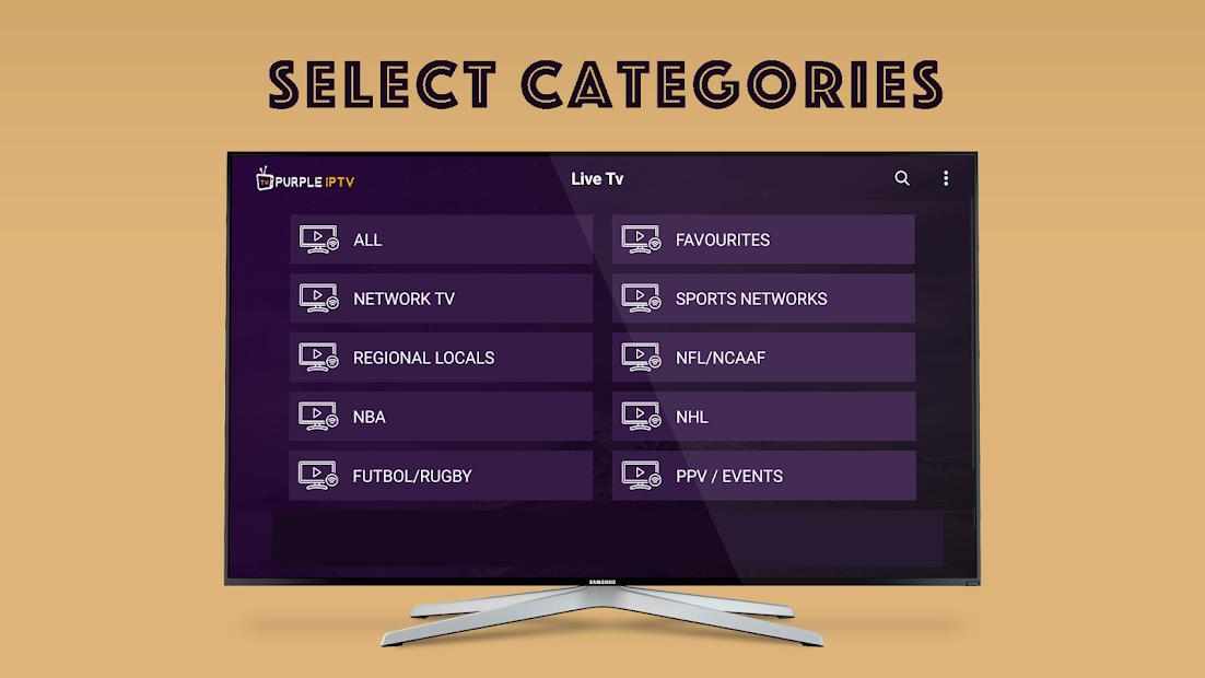 Purple Extreme Smart IPTV Player