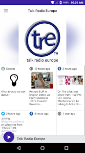 Talk Radio Europe- screenshot thumbnail