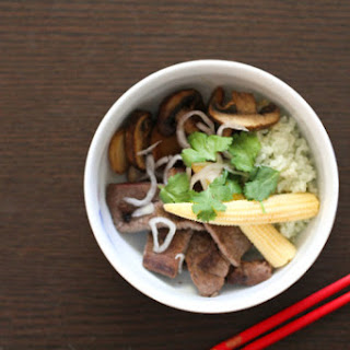 Jade Rice Beef Bowl