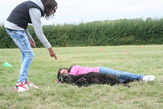 Photo: Love this photo too... This is Tilly and Tamsin after being 'shot' by Natasha