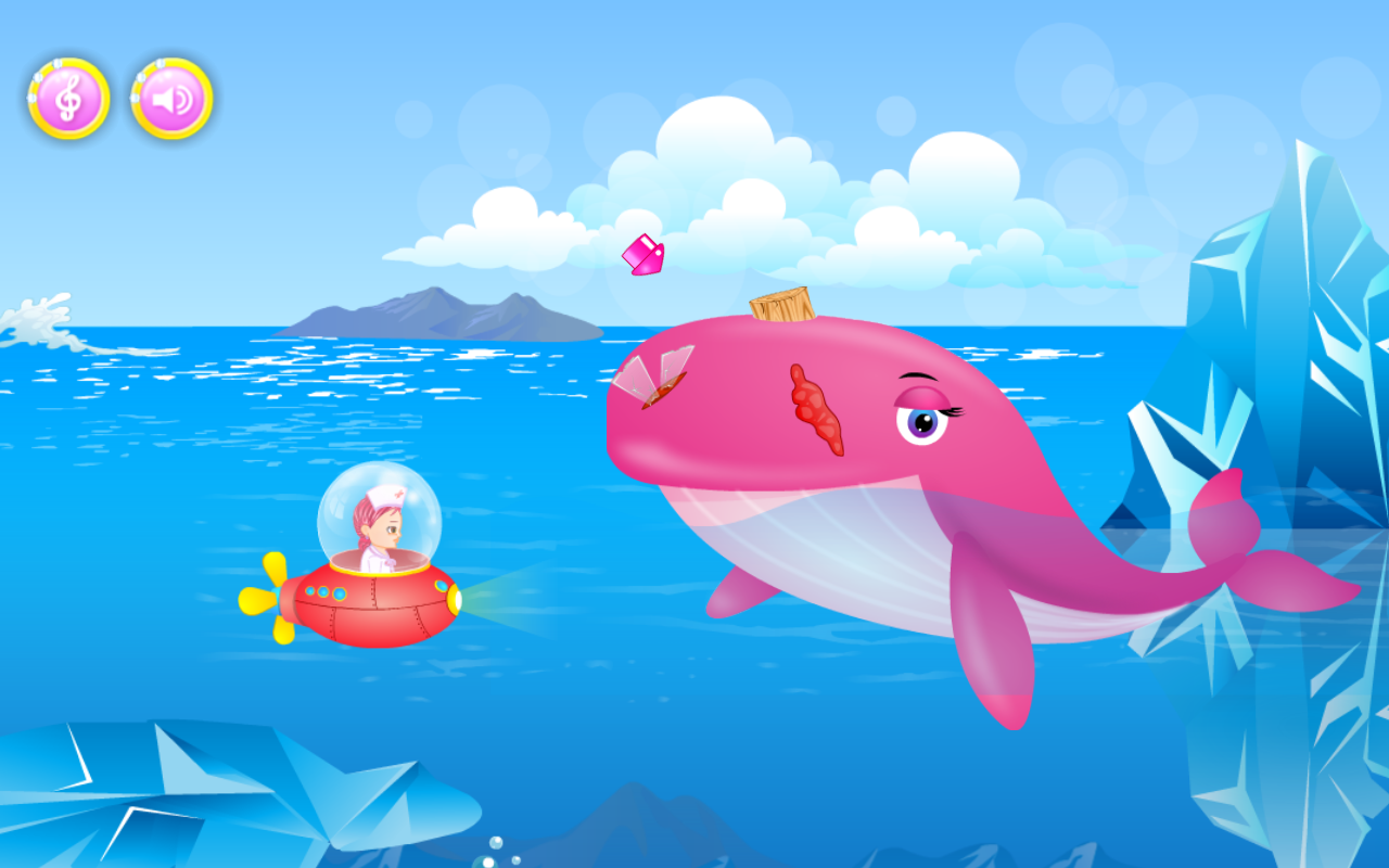 Ocean Doctor: Sea life Rescue- screenshot