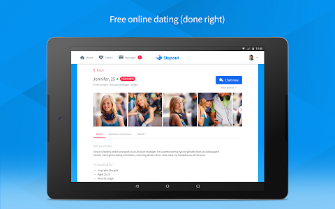 Stepout - Free online dating v3.0