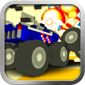 Blocky Monster Truck Demolition Derby