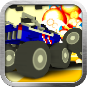 Blocky Monster Truck Smash for PC and MAC