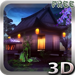 Real Zen Garden 3D: Night LWP 1.2