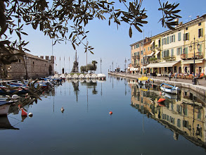 Photo: Lazise  #Italy  #gardameer  #lagodigarda
