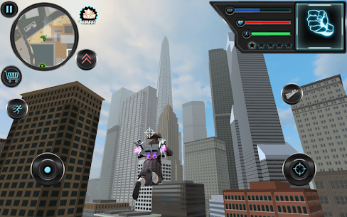 Jetpack Hero Miami Crime 1.4 APK + MOD Download 3