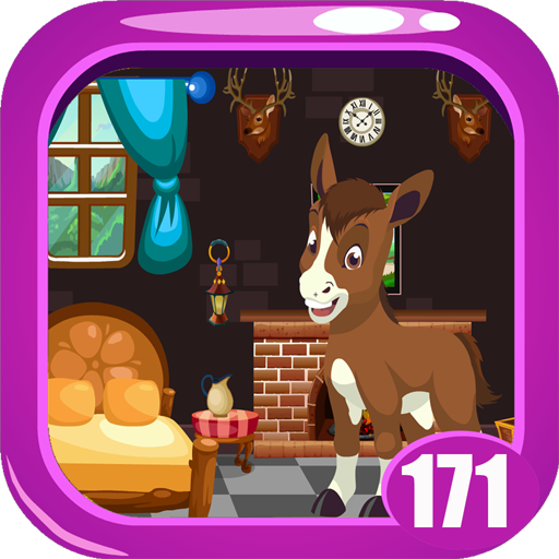 Cute Foal Rescue Game Kavi - 171