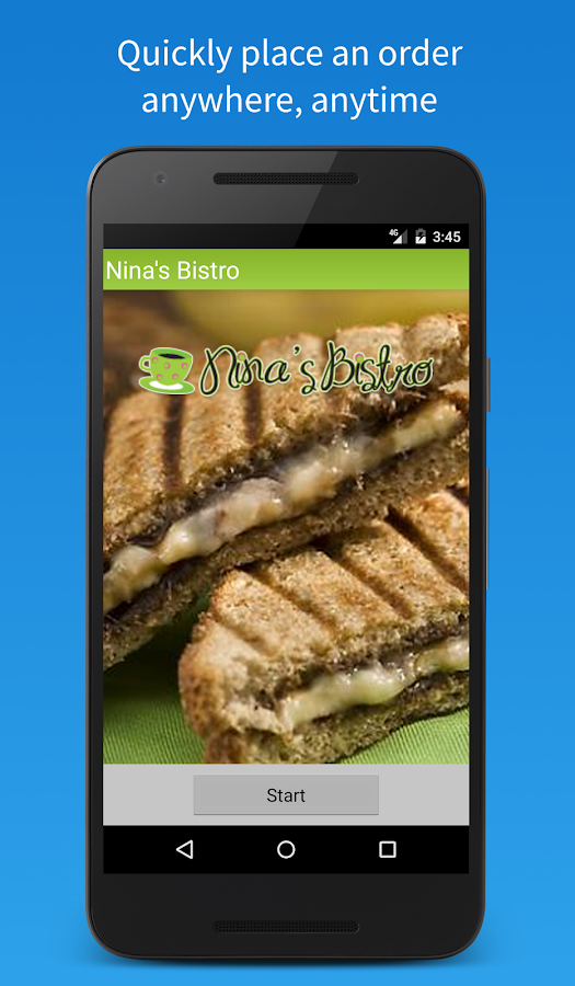 Nina's Bistro Mobile- screenshot