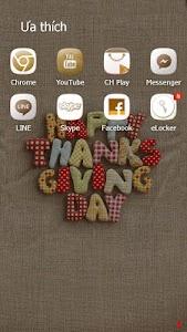 HappyThanksgiving eTheme Theme screenshot 4