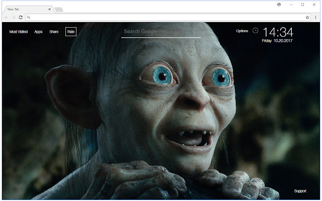 The Lord of the Rings Wallpaper New Tab