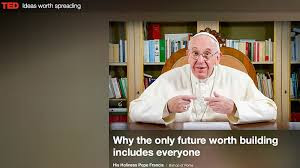 Pope Francis' surprise appearance at TED talks