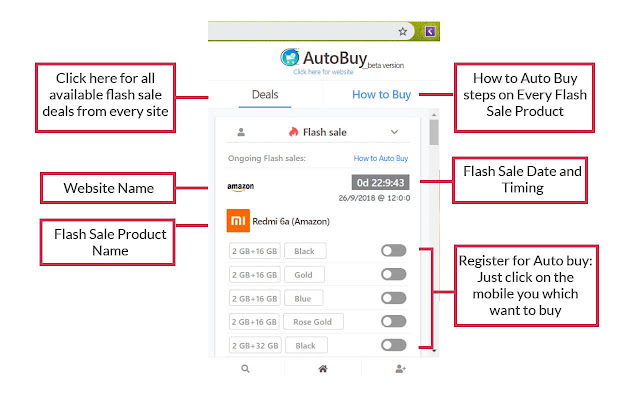 AutoBuy Flash Sales, Deals, and Coupons