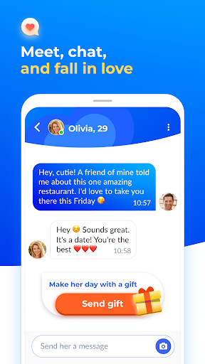 Dating and chat - iHappy 1.0.32 screenshots 2