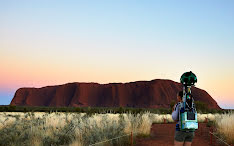 Experiencing the songlines of Uluru with Google Maps Street View and Story Spheres