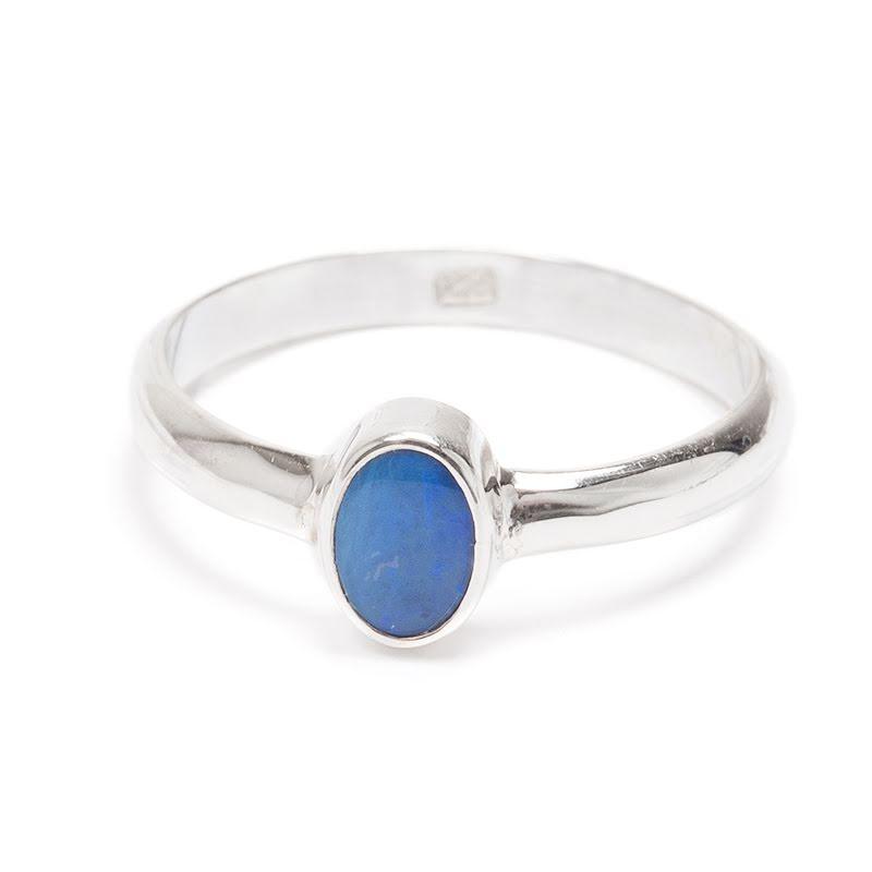 Opal, liten ring