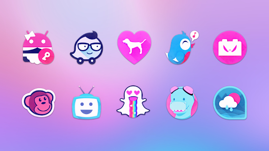 Unicorn Icon Pack - náhled