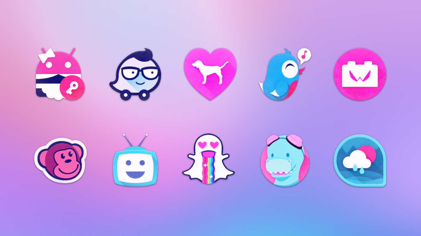 Unicorn Icon Pack- screenshot