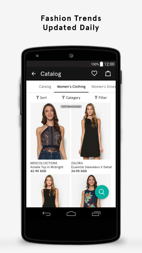 ZALORA Fashion Shopping- screenshot
