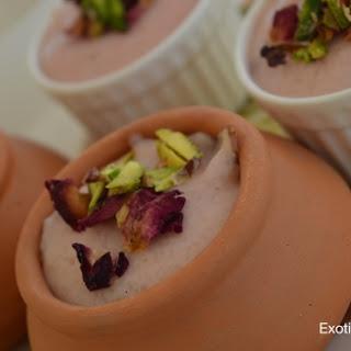 Rose Phirni Recipe