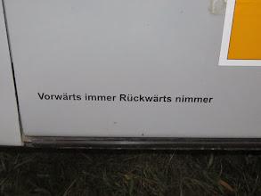 Photo: Aus Fehlern lernt man Foto. Jörg Vach