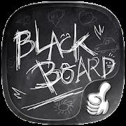 Blackboard Graffiti Theme