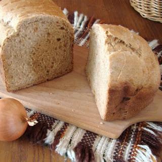 Onion Garlic Bread In A Bread Machine.