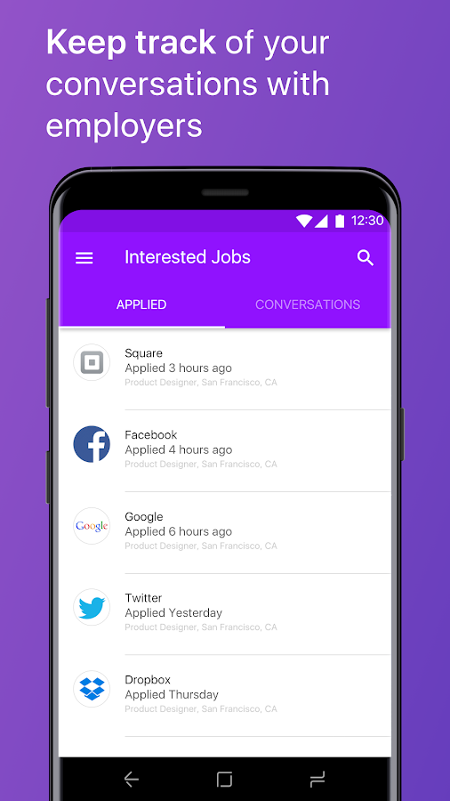 Monster Job Search- screenshot