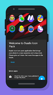 Dualix - Icon Pack Screenshot