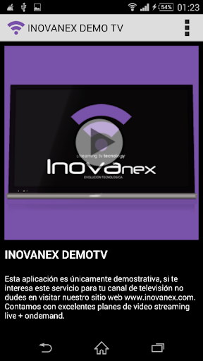 TV DEMO INOVANEX