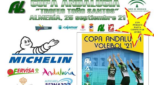 Llega la Copa de Andalucía de Voleibol