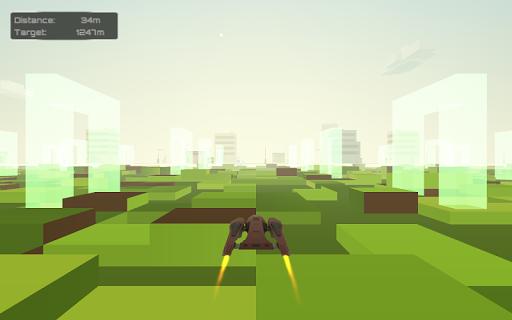 Pixel City Flight