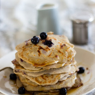 Buckwheat Blueberry Pikelets.