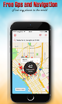 screenshot of Free GPS Maps - Navigation and Place Finder