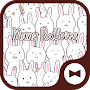 Wallpaper Many Rabbits Theme APK icon