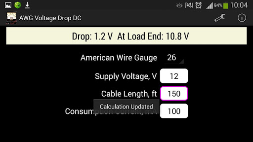 Awg voltage drop dc apk download only apk file for android greentooth Gallery