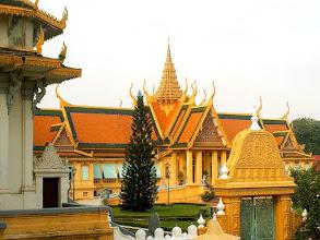 Photo: Phnom Penh - Pałac Królewski, Rezydencja Króla / Royal Palace, King's Residence